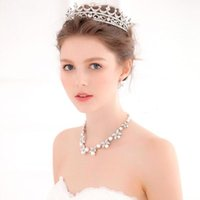 Wholesale Women Fashion Crown Hairband Vintage Crystal Tiara Hiar Jewelry Wedding Accessories Bridal Hairband Pageant Party Jewelry CPA488