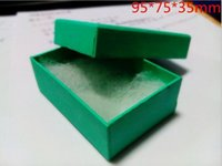 Wholesale Exquisite green jewelry box gift box jewelry packaging paper gift box earring ring box mm