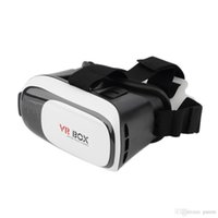 Wholesale VR BOX Virtual Reality Head Mount Plastic D Glasses High Quality VR Glasses Suit For to