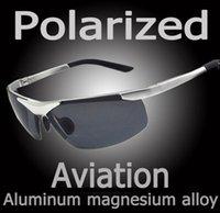 Wholesale Polaroid Sunglasses Men Polarized Driving Sun Glasses Mens Sunglasses Brand Designer Fashion Oculos Male Sunglasses aa