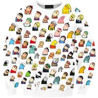 animate sweaters - Europe explosion models of digital printing animated characters Waibo collection hedging sweater Sws0182