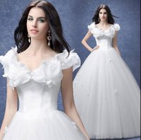 big butterfly pictures - New Arrival Hot Sale Fashion Elegant Luxury Princess Big Design Sexy Lace Slim Big Butterfly Noble Ball Gown Wedding Dress