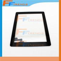 Pantalla táctil de cristal de montaje completo digitizador para iPad 2 con el botón de inicio 3M Adhesivo pegamento pegatina piezas de repuesto de la mejor calidad AA0132