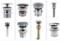 Wholesale Bathroom accessories Water Drains for Basin Bathroom sinks drainers lavatory sink drainers