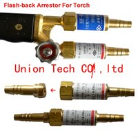 acetylene torch set - High quality Flashback Arrestor Gas Welding Cutting Torch Safety Valve for oxygen acetylene Torch Propane LPG Gas Torch Sets