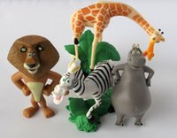 alex toys - Madagascar Alex Marty Playset set Figure Cake Topper PVC Action Figures Toys Dolls Kids Gifts by DHL sets