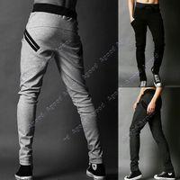 harem pants men - Men s Cool Harem Trousers Skinny Pants Legging Straight Fit Sports Sweat Pants