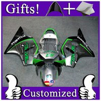 ABS bearing honda - ABS Fairing for Honda CBR954 RR PULL BEAR green balck gray fairing CBR RR
