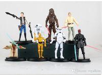 Wholesale 3 inch Star Wars Action Figure dolls model Children Best Gift Toy styles