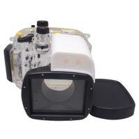 Wholesale Mcoplus m ft Camera Underwater Waterproof Housing Diving Case for Canon Powershot G1X WP DC44
