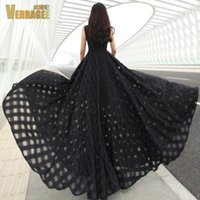 Wholesale The spring of the new Europe and the United States long dress large pendulum temperament organza cultivate one s morality dress
