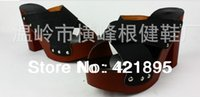 Wholesale spring and Summer new PRODUCTS fashion fish mouth type flange thick heel clogs slippers female sandals