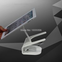 Wholesale DHL free Ipad tablet PC alarm anti theft security display stand with charging function