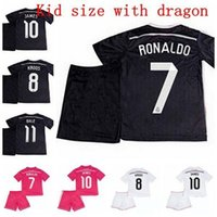 kids jerseys - Wholesales Camisa Madrid kids Jerseys Soccer Jersey Football customes Kits Camisetas De Futbol Chandal Madrid Uniform Children