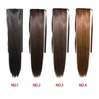 Wholesale New fashional cm synthetic clip in hair extensions long straight hair piece for women colors hair extension hot sale