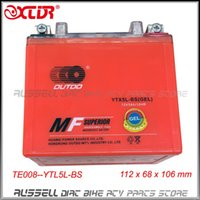 Wholesale 12V Ah YTX5L BS GEL Battery For Motorcycle Motorbike Honda Yamaha Suzuki Kawasaki only sale to USA AU