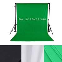 Wholesale 1 m ft Nonwoven Fabric Studio Video Backdrop Photography Background Screen Black Green White optional