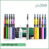 Set Series ego-t - CE4 ego t Starter kit E cig Electronic Cigarettes mah mah mah ego t E cigarette Zipper Case ml ce4 single kit