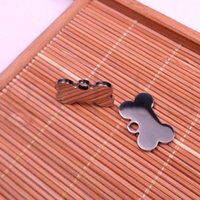 Wholesale Small pendants Dog Tag Highly polished stainless Jewelry Accessories use for zippers bags jewelry key chains
