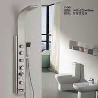 Wholesale The jas Y001 of type stainless steel multi function shower panel