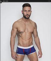 ad underwear - New Mens Underwear Fashion Casual Boxers Men s Boxer Shorts Cotton Shorts AD Boxers