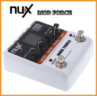 Wholesale NUX Multi Modulation Color Screen Guitar Mod Force Electric Effectors Pedals Musical Instrument Parts Electronic Via DHL