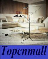 Wholesale Serge Mouille Pole Floor Lamp modern design Lighting France Classic Lamps For Living Room Bedroom Reading Room floor lights LYH19