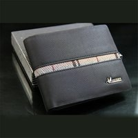 leather material - Bi Fold Wallet for Men Simple Design Durable Leather Material with Inside SIM Card Pocket Functional Mens Money Wallet