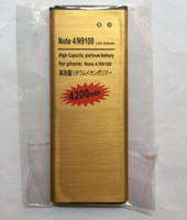 Wholesale High capacity Note4 Battery mAh Gold Rechargeable Li ion Battery Replacement for Galaxy Note N9100