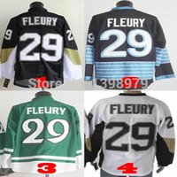 andre sports - 30 Teams Hot Jerseys Pittsburgh Penguins Marc andre Fleury Ice Hockey V Neck Authentic sport Jersey wjj213