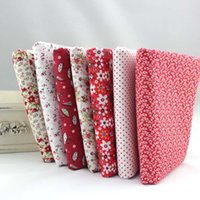 Wholesale New Products CMx50CM Prints Assorted Red Cotton Sewing Fabric scrapbooking Diy Cloth for Patchwork Quilting Tilda