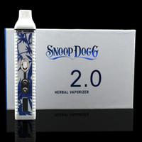 vapor pens - 2200mah Snoop Dog Pro V2 Vaporizer Kit Temp Control TC Herbal Vaporizer Pen VS Vapor Blunt Titan