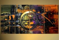 Cheap One Panel Canvas Oil Paintings Best Oil Painting Fashion Corridor Room Decoration