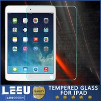 Wholesale 0 mm iPAD Tempered Glass Screen Protector For Ipad Ipad mini Ipad Air2 Film Tablet Screen Protector H Tempered Glass Retail Package