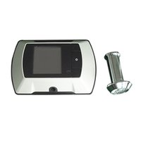 Wholesale FS Hot quot Monitor Digital Door Peephole Viewer High Resolution Camera DIY order lt no track