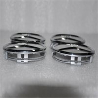 hub caps - 75mm Wheel Center Caps Nut Tire Wheel Covers for Hub Caps Silver Chrome ABS Wheel Covers Car Wheel Covers
