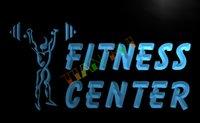 advertising fitness - LB323 TM OPEN Fitness Center Centre GYM Neon Light Sign Advertising led panel jpg