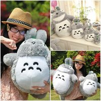 Wholesale 20 cm cm cm cm Famous Cartoon Totoro Plush Toys Soft Stuffed Animal Dolls High Quality Dolls as Birthday Valentine s Gift