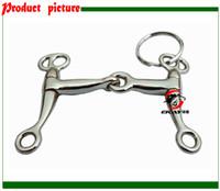 Wholesale craft Key holder horse bit key chain key rings giveaways K002C