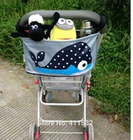 bin bag - Baby Toys Accessories Organizer Stroller Waterproof Canvas Storage Bins Boxes Hanging Bags