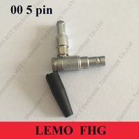 Wholesale LEMO Connector FHG pin LEMO right angle line plug Used on the ARRI Mini Audio input