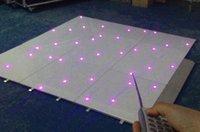 Wholesale RGB led dance floor white color black color custom made size hot sell uk ireland Led Twinkling Dance Floor
