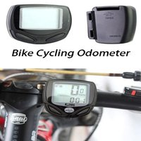 Wholesale Waterproof Wireless LCD Digital Bicycle Bike Cycling Computer Odometer Speedometer Bicycle Accessories Black