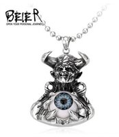 alternative trade - 2016 fashion new Non mainstream alternative individuality jewelry and foreign trade Titanium steel eye pendant men and women