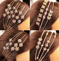 Cheap 2015 Crystal Rhinestones headbands wire headband Hair Jewelry hair accessories for grils women