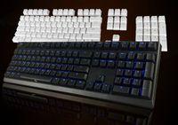 Revisiones Teclado para juegos de luz de fondo azul-Teclado mayor-DHL DK Ducky 2108S2 juego mecánico retroiluminación azul KBTalking MX Azul / Negro / Rojo / Negro Cambia +104 Keycaps ABS whtie