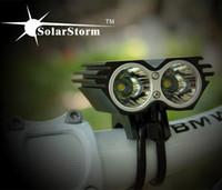Wholesale 5000 Lumen x CREE XML U2 LED SolarStorm Cycling Bicycle Bike Front Light Lamp HeadLight Headlamp