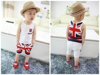 bebe clothing - 2015 Summer Cotton Baby Spring Baby Girls Boys Newborn bebe Overall Clothes Baby Clothing Short Sleeve Pant Kids Sport Suit