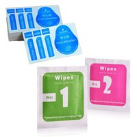 Wholesale Set Cleaning Tools of Tempered Glass Screen Protector Wet Dry in Guide Sticker Dust Absorber