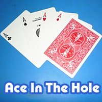 ace in hole - Ace In The Hole DVD Gimmick Trick card magic magic tricks props comedy mental magic